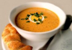 Tojáskrémleves Cheeseburger Chowder, Thai Red Curry, Paleo, Ethnic Recipes, Soups, Chowders, Soup