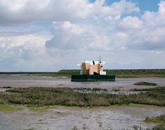 A future house prototype addressing rising sea levels is floating around the Thames Estuary.
