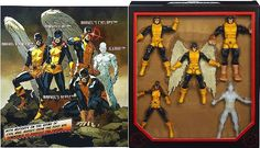 Marvel Legends Exclusive All New XMen Set Cyclops Angel Marvel Girl Iceman  Beast *** Want to know more, click on the image.