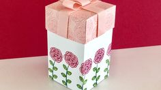 Happy Birthday Gorgeous Gift Box - Video Tutorial with New Stampin' Up p...