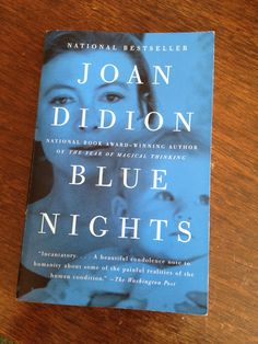 """""""'Do not whine,' I write on an index card. 'Do not complain. Work harder. Spend more time alone.'""""    The best parts of Blue Nights by Joan Didion   Mighty Girl"""