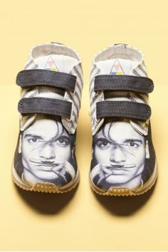 Kids shoes with Johnny Depp prints!