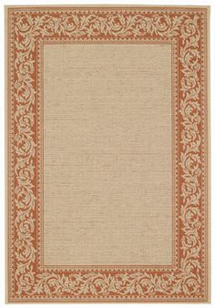 Finesse Scroll - a kitchen rug that provides a neutral foundation with designer detail and durability for the busiest room in the house.