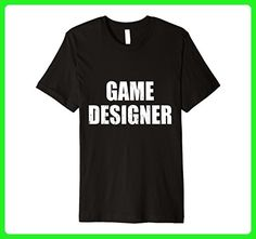 Mens Game Designer T Shirt Halloween Costume Retro Distressed Medium Black - Retro shirts (*Amazon Partner-Link)