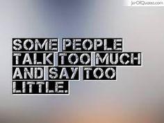 some people talk ile ilgili görsel sonucu