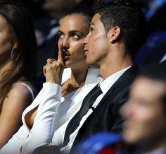 Cristiano Ronaldo and model Irina Shayk