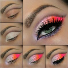 Beautiful Summer Evening/Night Eyeshadow..