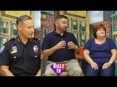 David Currey Chief of Police Vero Beach & Robin Diaz and Anthony Zorbaug...