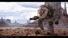 Steam Dreadnought, Aleksander Galevskyi on ArtStation at https://www.artstation.com/artwork/eRKlY