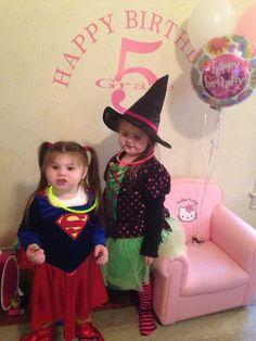 Halloween & Grace's 5th Birthday