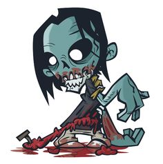 How to Create a Stinking Zombie Flesh-Eater in Illustrator - Tuts+ Design Illustration Tutorial Art And Illustration, Illustrations, Pirate Illustration, Cartoon Tutorial, Character Design Cartoon, Character Design Tutorial, Character Ideas, Cartoon Pics, Cartoon Drawings