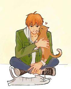 Δ when snow melts, what does it become? — kitty kisses (*´▽`*) All Anime, Manga Anime, Anime Art, Manhwa, Kyo And Tohru, Fruits Basket Manga, Fruits Basket Cosplay, High Fiber Fruits, A Silent Voice