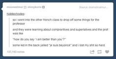 On the One True French Superlative: | The 32 Realest Things The Beyhive Has Ever Said