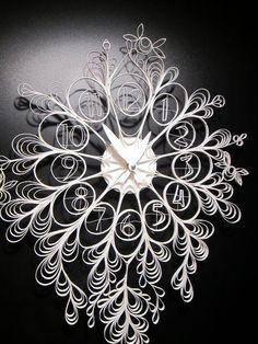 Fancy - Paper Clock | Sarah Mimo