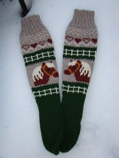 Anna, Stocking Pattern, Knitting Socks, Knit Socks, Boot Cuffs, Double Knitting, Knit Or Crochet, Animal Design, Mitten Gloves