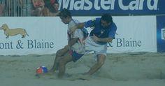 Futebol de Areia Apostas Esportivas