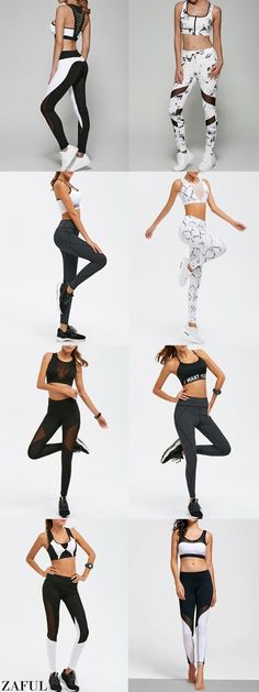I am OBSESSED with this Nike Pro outfit. The top is thin and light while  adding extra coverage over your sports bra. The higher neckline keeps you  ... da8a700de6129