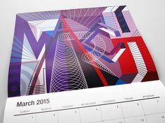 MWM Graphics (Matt W. Moore)   2015 Wall Calendar   March