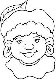Kleurplaten Zwarte Piet Hoofd.Sinterklaas En Zwarte Piet Kleurplaat 5 December 1000 Images About