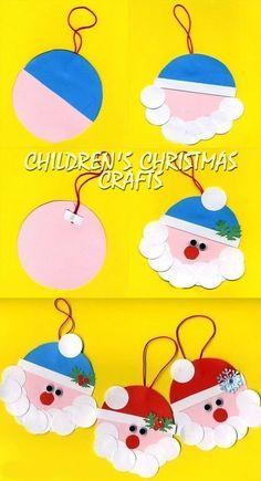 55 Ideas Craft Ideas For Kids Christmas Activities Childrens Christmas Crafts, Christmas Crafts For Toddlers, Christmas Crafts For Kids, Toddler Crafts, Holiday Crafts, Children Crafts, Christmas Ideas, Crafts Toddlers, Children Activities