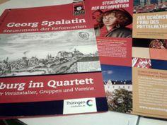 Spalatin vernetzt: Ausstellungsvorbereitung läuft auf Hochtouren - Die Ausstellung spannt einen interaktiven Bogen von der Reformation in die heutige Zeit.