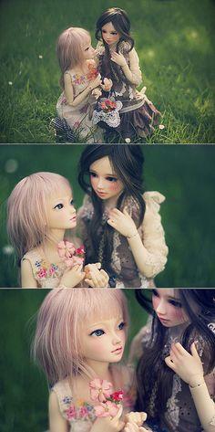 Cute BJDs. Yuri? ;>