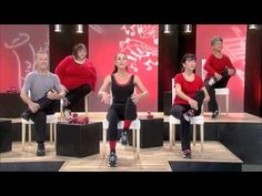 ▶ Sit Down & Tone Up, Encore- Chair Pilates - YouTube A Chair Pilates move from Chair Dancing® Fitness. Improve core strength and flexibility from the comfort of your favorite chair, or your desk at work.