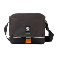 Crumpler Proper Roady 2000 DSLR Photo Sling Bag PRY2000-003 Grey Black/dk.Orange #Crumpler