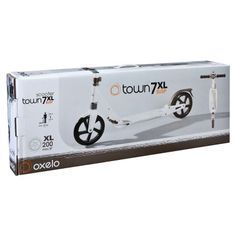 Roller_trotinettes Step, Longboard, Roller - Step Town 7 XL wit OXELO - Steppen