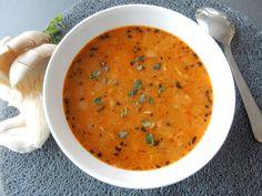 Drštková polévka z hlívy ústřičné, polévka z hlívy, drštková polévka recepty, drštková polévka z hlívy recepty, drštkovka recepty, polévka z hub recepty, houbová polévka recepty Hub, Ethnic Recipes, Food, Essen, Meals, Yemek, Eten