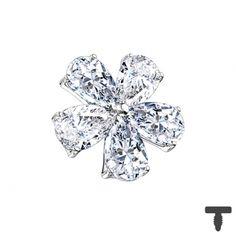7 mm Dermal Anchor silber Blume mit Kristalltropfen in Materialstärke mm Dermal Anchor, Chf, Piercing, Engagement Rings, Jewelry, Crystal Drop, Crystals, Silver, Florals
