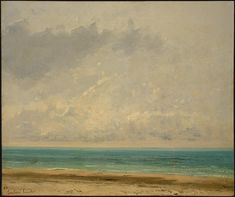 Calm Sea - Gustave Courbet