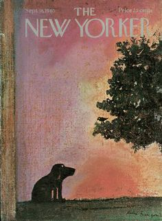 André François : Cover art or The New Yorker