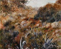Renoir, Paysage algérien - le ravin de la femme sauvage, 1881