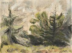 Henry Varnum Poor (american, 1888-1970) Landscape
