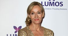 Joanne Rowling hosts a fundraising event for the charity 'Lumos'.