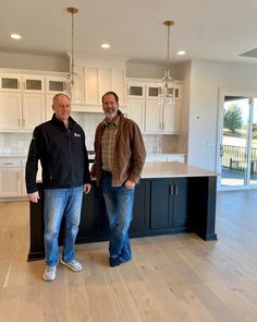 Dan Quinn and Curtis Befort, Fieldstone Homes Co-Founders and the masterminds behind our fine, custom homes! With combined experience of over 25 years, you can be sure that your custom build is in great hands! If you're looking to build your dream home, we'd love to be your trusted builders! Give us a call to start the process today📞 913-681-1230 Build Your Dream Home, Custom Homes, Dreaming Of You, Dan, Normcore