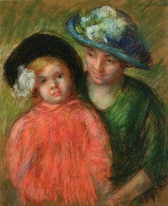 Mary Cassatt | ... / Impressionnisme / CASSATT Mary / Mary CASSATT «Mère et Enfant
