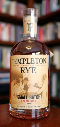 The Templeton Rye Small Batch Whiskey Old fashion in a cold glass Alcohol Mixers, Alcohol Bottles, Liquor Bottles, Whiskey In The Jar, Scotch Whiskey, Bourbon Whiskey, Whisky, Tequila Beer, Bourbon Brands
