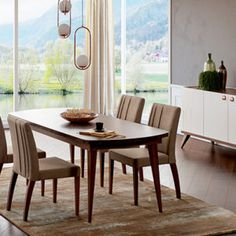 Mobilier Dining - Alfemo Dining Chairs, Dining Table, Palermo, Romania, Furniture, Design, Home Decor, First Up Canopy, Dining Room Table