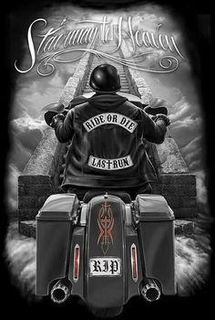 Ride or die Harley Davidson Tattoos, Harley Davidson Pictures, Harley Davidson Wallpaper, Harley Davidson Art, Harley Davidson Motorcycles, Motorcycle Tattoos, Biker Tattoos, Motorcycle Art, Bike Art