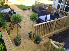 Professional Landscaping, Liverpool, Project Ideas, Projects, Pergola, Decking Ideas, Patio, Landscape, Outdoor Decor