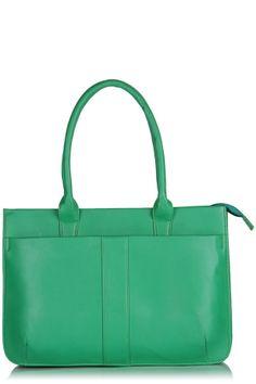 Fashion My Day : Funky Green LaptopBag