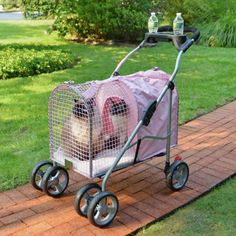 5th Ave Pet Stroller SUV Pink 2 Pack >>> Click on the image for additional details.(This is an Amazon affiliate link and I receive a commission for the sales)