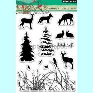 Penny Black Nature's Friends Clear stamps