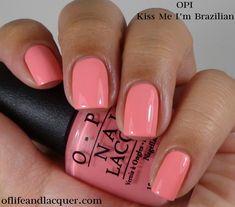 OPI Kiss Me I'm Brazilian 1a