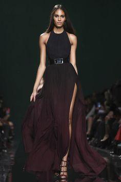 Elie Saab Ready To Wear Fall Winter 2014 Paris - NOWFASHION subtile, elegant