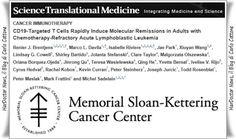 Nuova terapia per la leucemia, regressione in 8 giorni