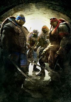 Out of the Shadows TMNT 2 . The future is grim until four unlikely outcast brothers rise from the sewers and discover their destiny as Teenage Mutant Ninja Turtles. The Turtles must work with . Ninja Turtles Funny, Ninja Turtles 2014, Teenage Ninja Turtles, Tmnt Wallpaper, Tortugas Ninja Leonardo, Just For You, Hd Streaming, Power Rangers, Fan Art