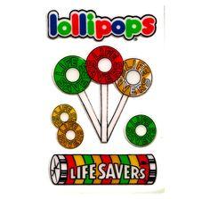 Lifesaver lollipops